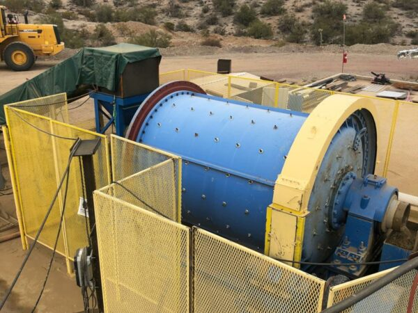 7' x 10' Marcy Skidded Ball Mill