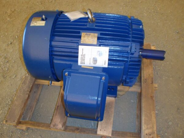 40 HP Teco Electric Motors, new unused