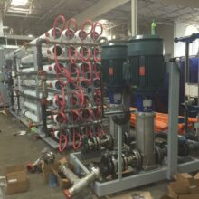 Reverse Osmosis Module with CIP Skid