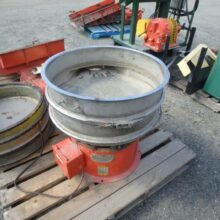 "24"" Sweco Round Separator model LS24S6 single deck screen"