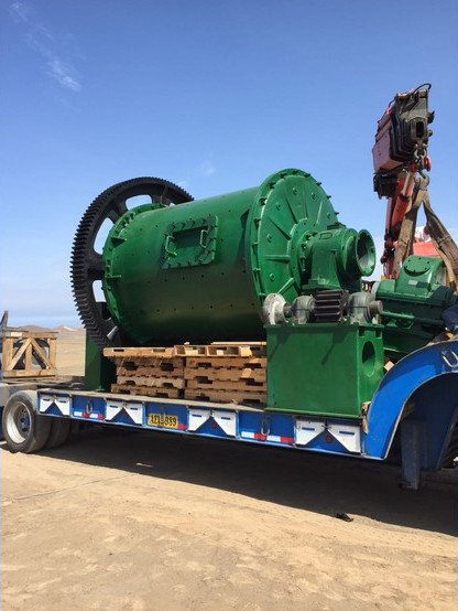 6' x 8' Denver Ball Mill, unused, heavy duty special