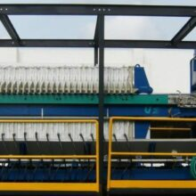 1200 mm Containerized Filter Press
