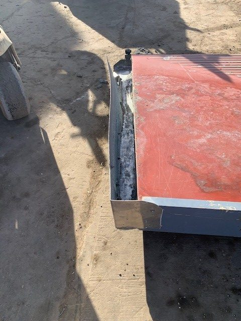 6' x 15' Wilfley Concentrating Table