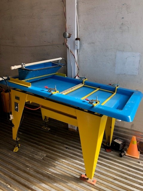 Action M7 Micron Mill Wave Table