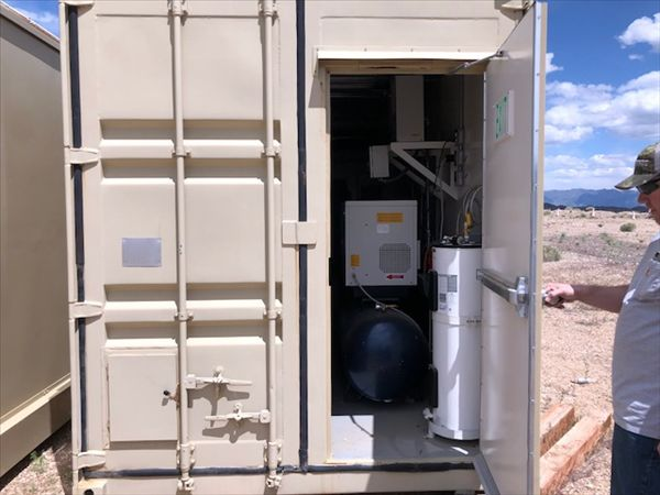 Containerized Lab for Sample Prep & Analysis